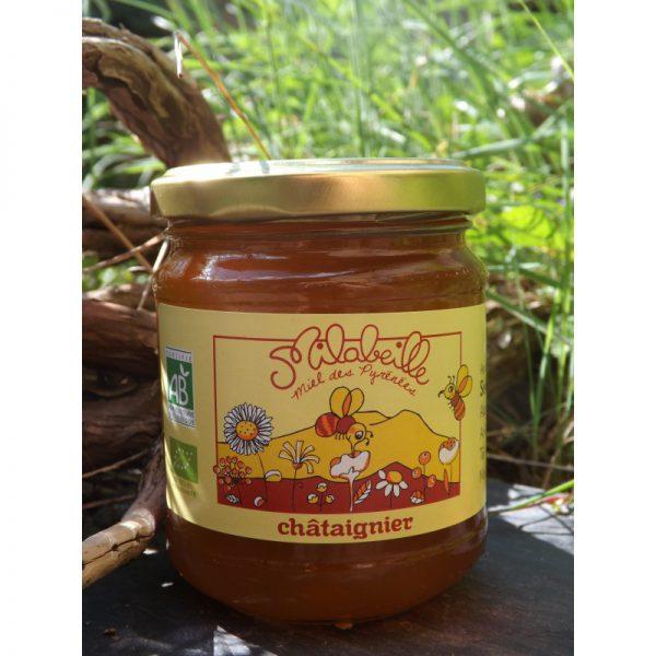 Miel de châtaigner 250 g
